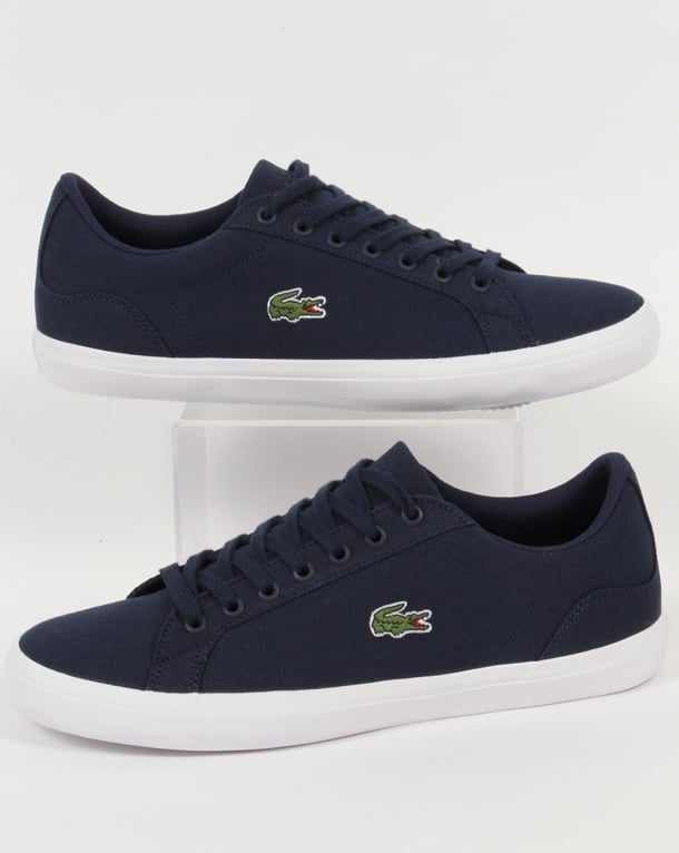 Lacoste Lerond BL Trainers Navy