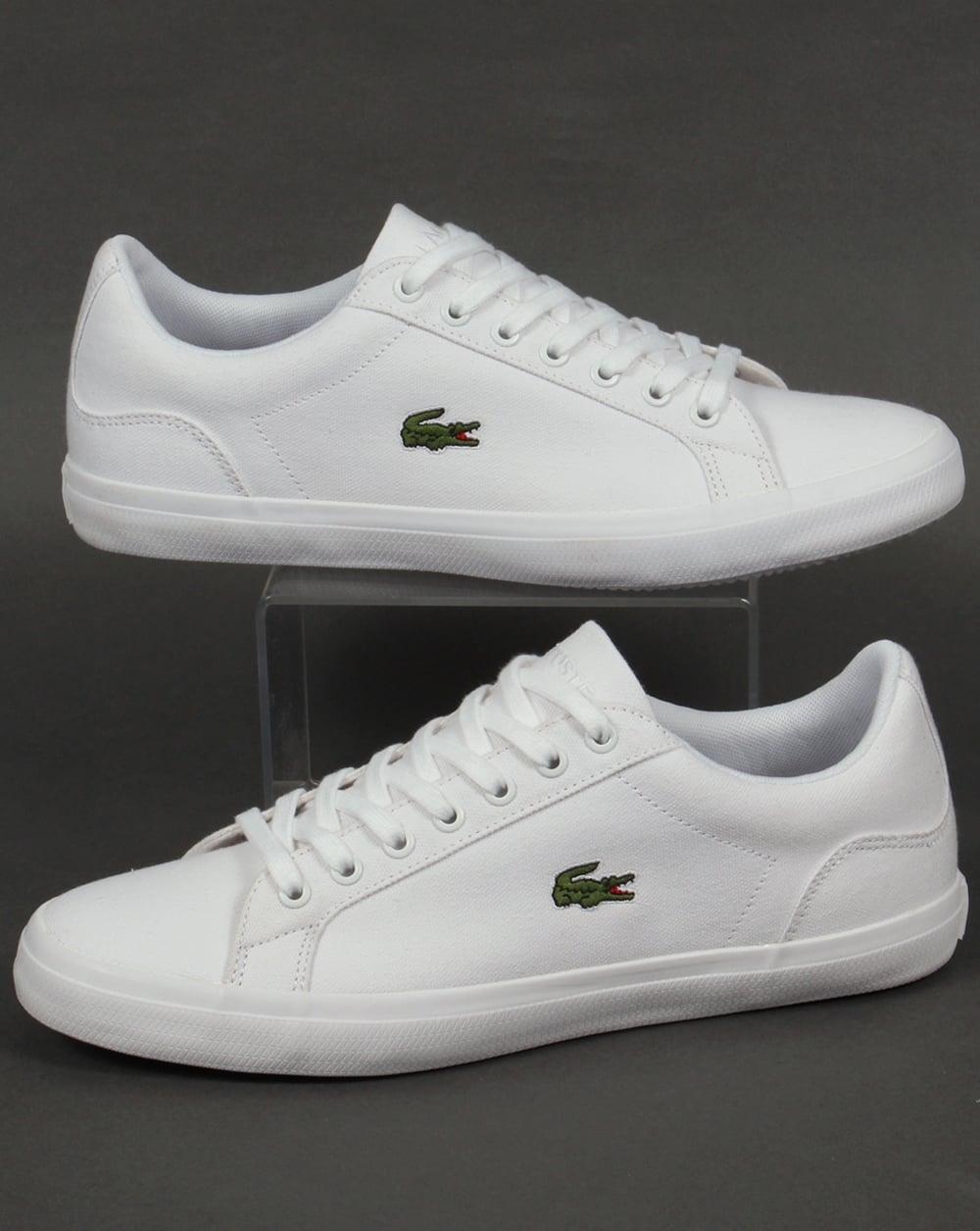 Lacoste Lerond BL Trainers White,shoes,low,mens, plimsole