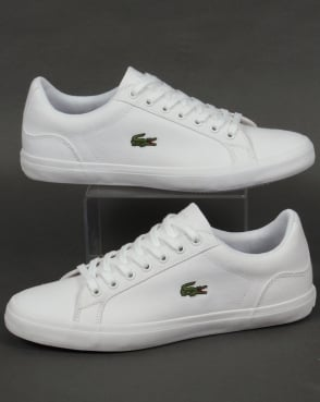 Lacoste Footwear Lacoste Lerond Canvas Trainers White