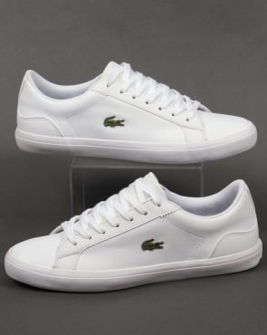 Lacoste Footwear Lacoste Lerond Leather Trainers White