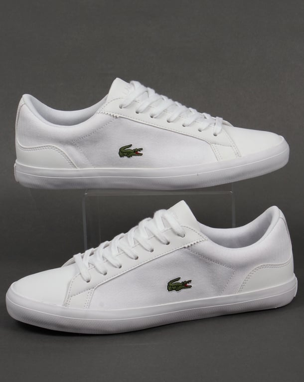 Lacoste Lerond Trainers White/White