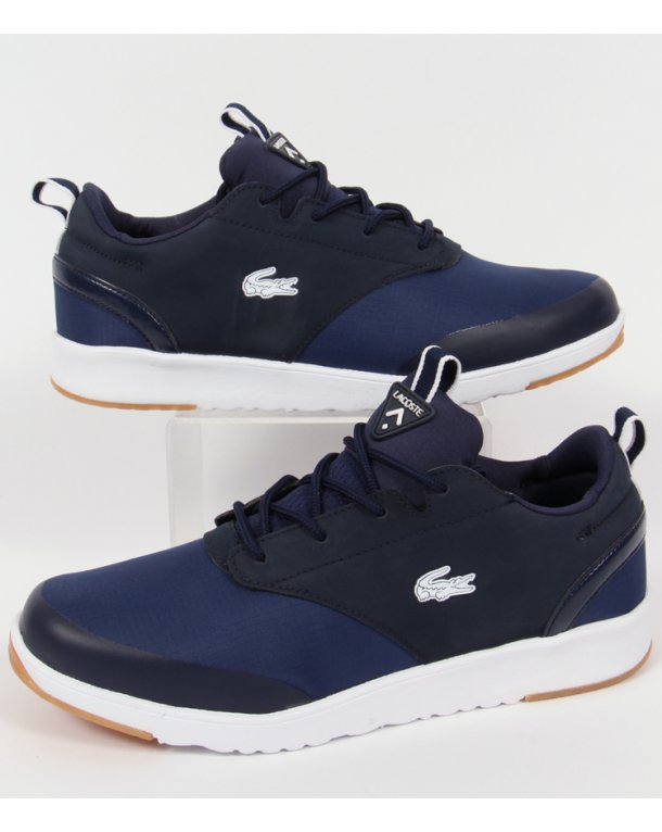 Lacoste Light Trainers 2.0 Dark Blue