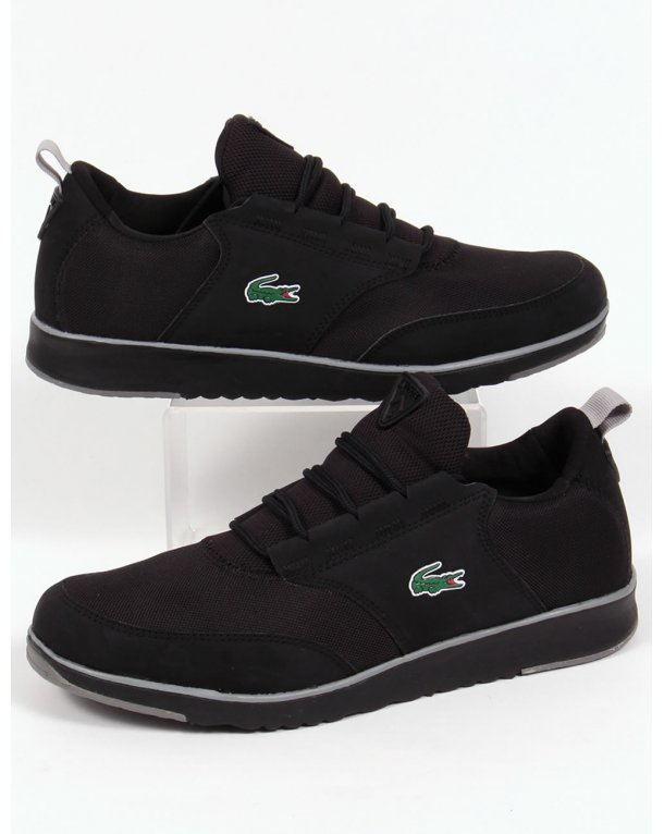 Lacoste Light Trainers Black/grey