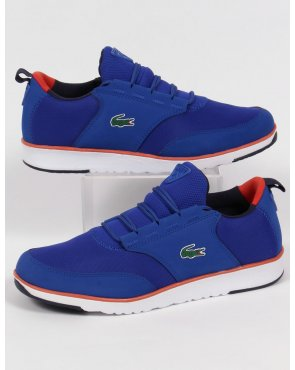 Lacoste Footwear Lacoste Light Trainers Royal Blue/orange