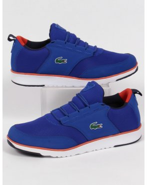 Lacoste Footwear Lacoste Light Trainers Royal Blue/orange
