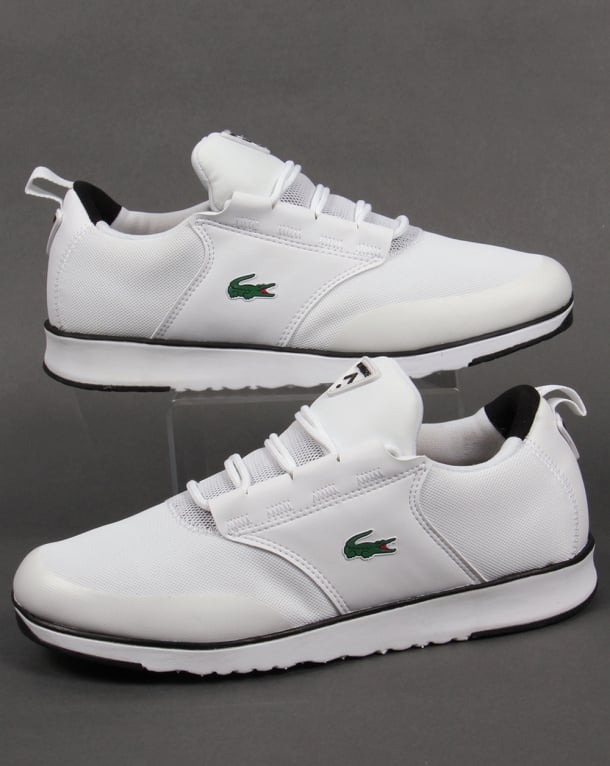 Lacoste Light Trainers White/Black