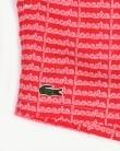 Lacoste Linear Logo Swim Shorts Grenadine