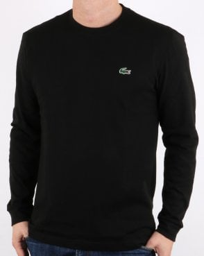 Lacoste Long Sleeve T-Shirt Black