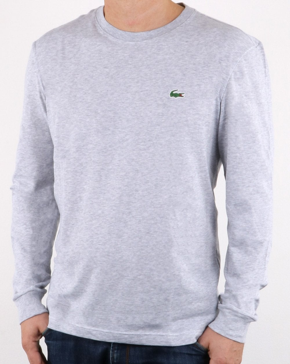 bee3ab74c6 Lacoste Long Sleeve T-shirt Grey