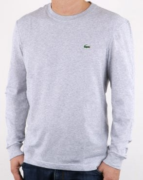 Lacoste Long Sleeve T-shirt Grey
