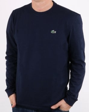 Lacoste Long Sleeve T-shirt Navy