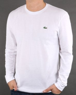 Lacoste Long Sleeve T-shirt White