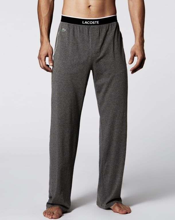Lacoste Lounge Pants Dark Grey