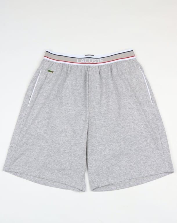 Lacoste Lounge Shorts Grey Melange