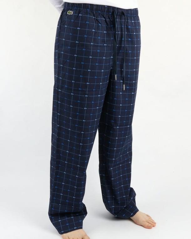 Lacoste Loungewear Sleep Pants Navy