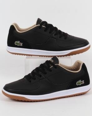 Lacoste Footwear Lacoste Ls 12 Minimal Ripple Trainers Black