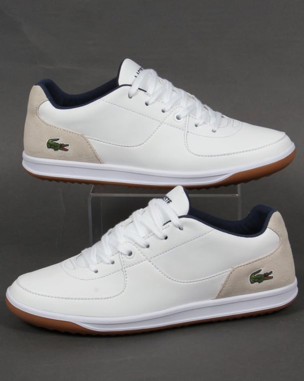 Lacoste LS 12 Minimal Ripple Trainers White