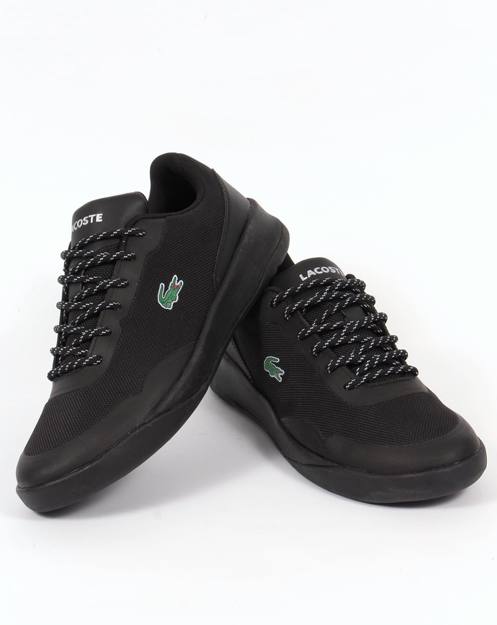 823fbf71a Lacoste LT Spirit 117 Trainers Black
