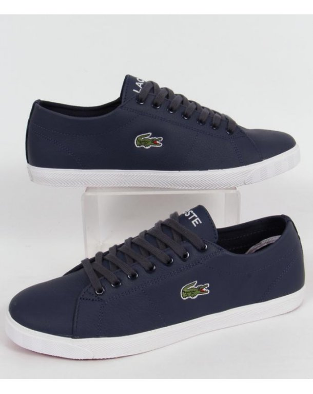 Lacoste Marcel Trainers Dark Blue