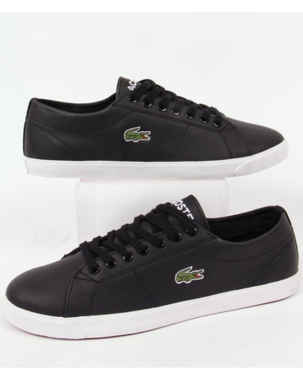 Lacoste Marcel Trainers In Leather Black