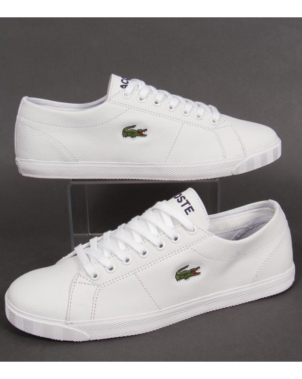 Lacoste Marcel Trainers White