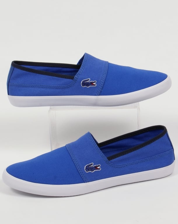 Lacoste Marice Slip On Espadrille Royal Blue