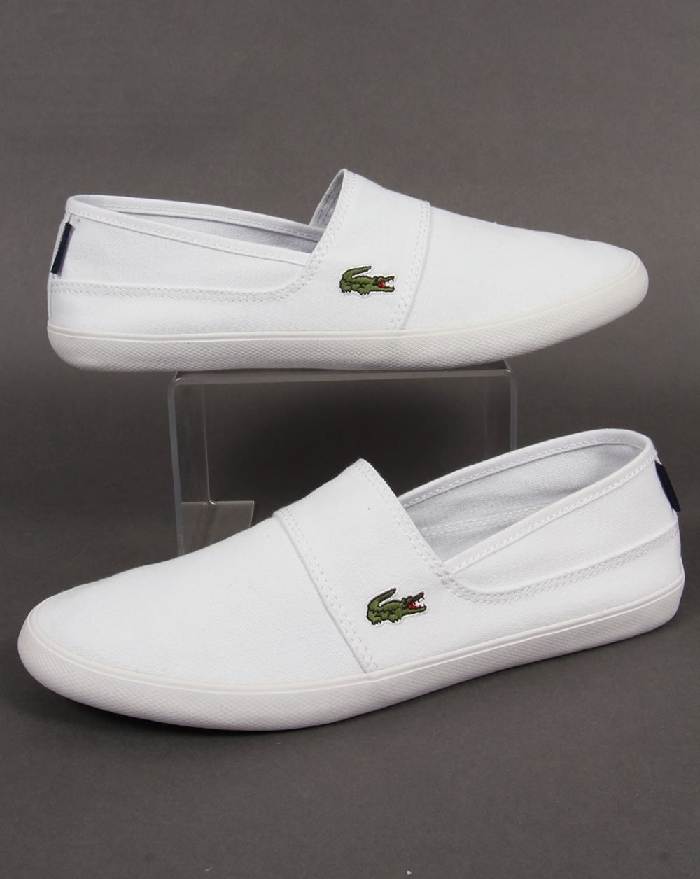 df73e4512 Lacoste Lacoste Marice Slip On Espadrille style- White