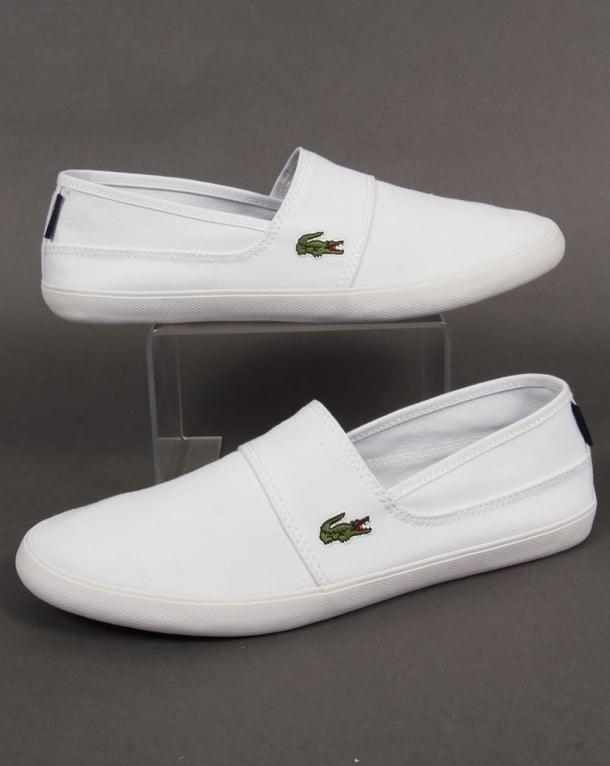 Lacoste Marice Slip On Espadrille style- White