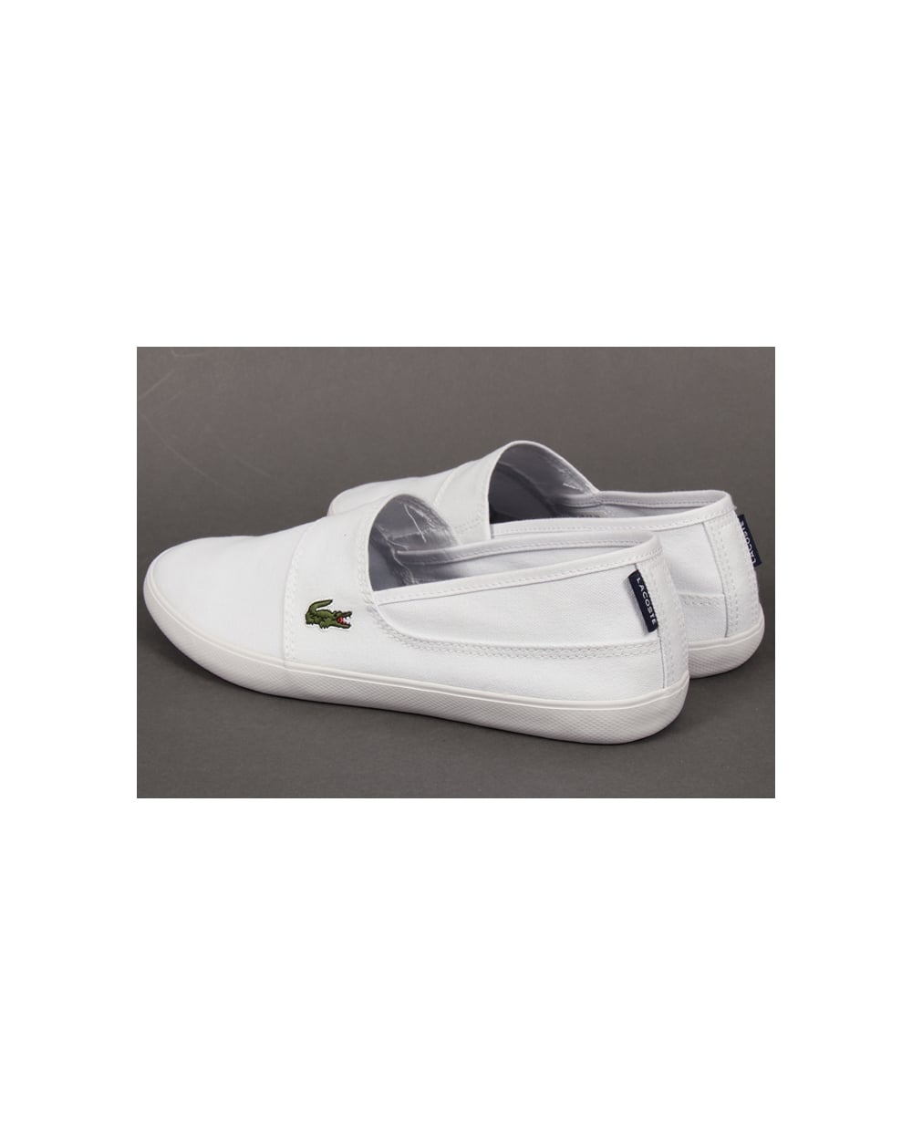 42dc67cad Lacoste Marice Slip On Espadrille style- White