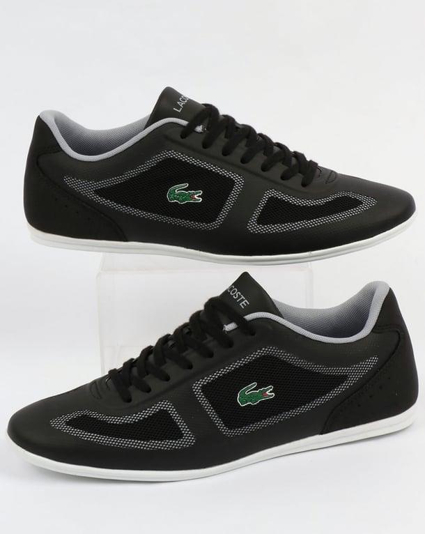 Lacoste Misano Evo Trainers Black/Grey