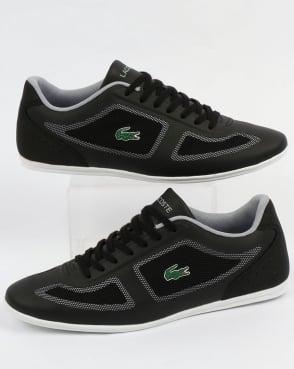 Lacoste Footwear Lacoste Misano Evo Trainers Black/Grey