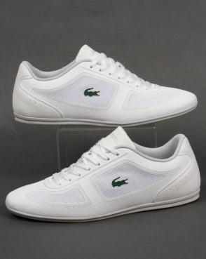 Lacoste Footwear Lacoste Misano Evo Trainers White