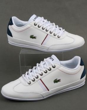 Lacoste Footwear Lacoste Misano Sport Trainers White/Navy