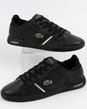 Lacoste Footwear Lacoste Novas Trainers Black/Silver