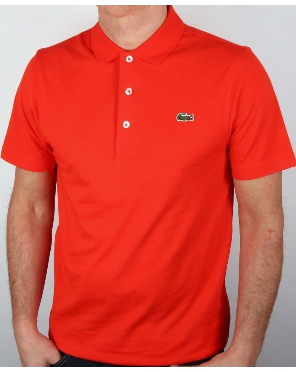 bc4bca41cf Lacoste Polo Shirt Etna Red