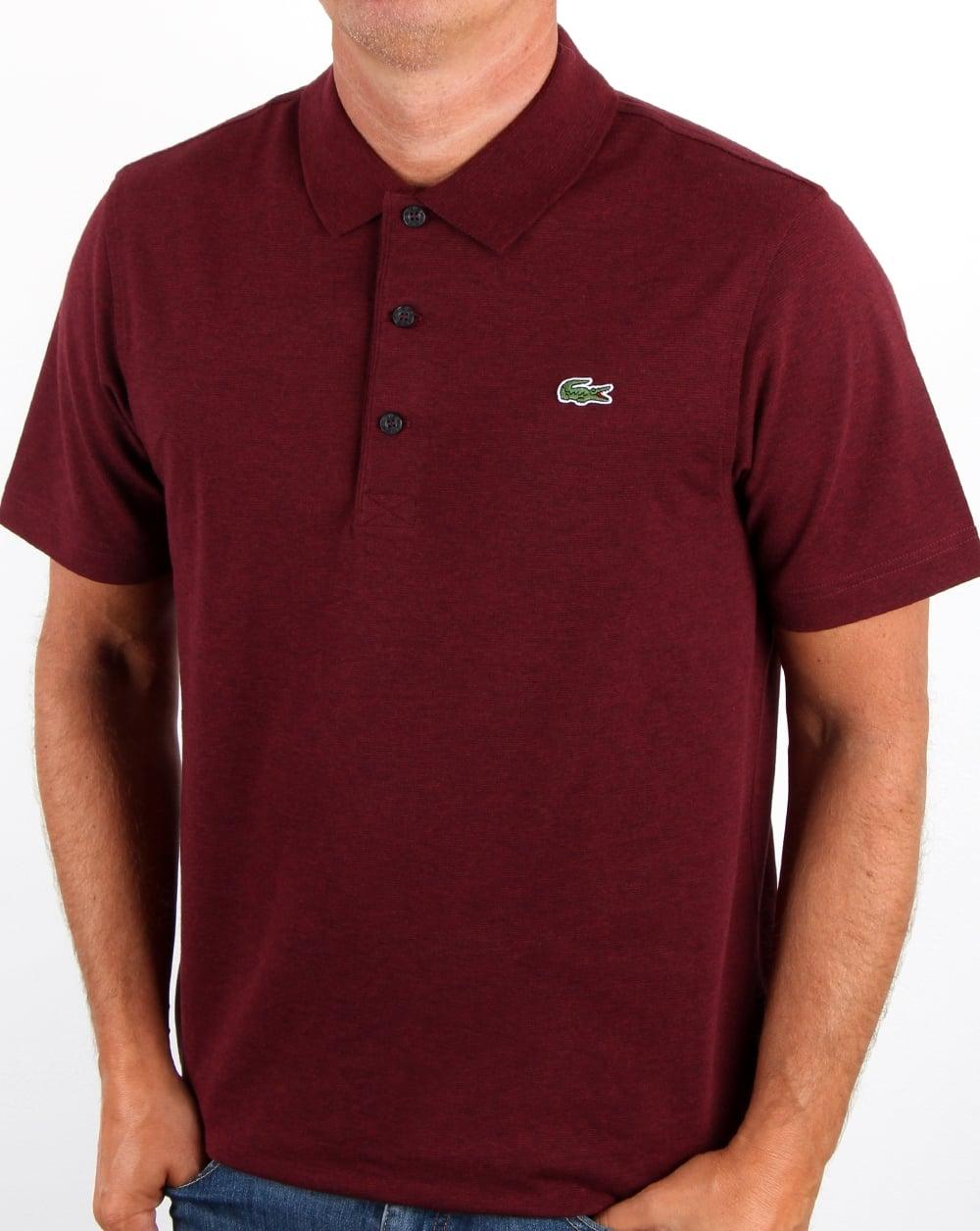Lacoste Shirt Vine Polo Grape nPwO80kX