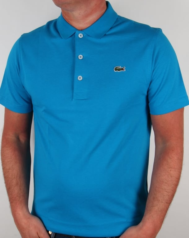Lacoste Polo Shirt in Fresh Blue