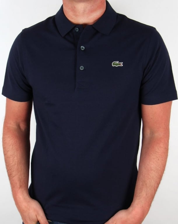 size 40 731ff ad284 Lacoste Polo Shirt Navy