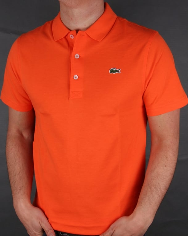 Lacoste Polo Shirt Orange