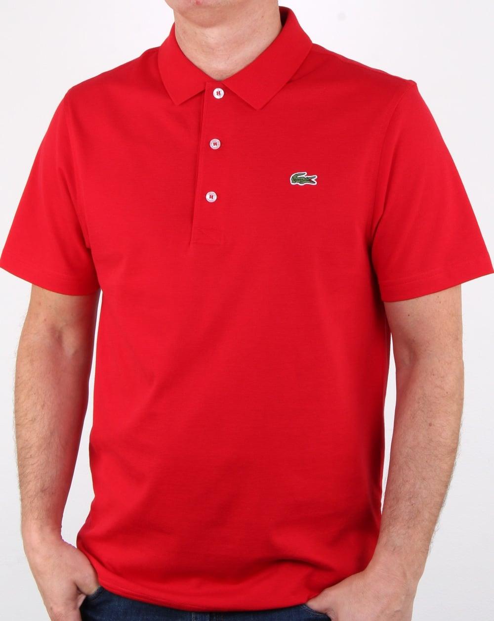 3a7a7e3953 Lacoste Polo Shirt Red