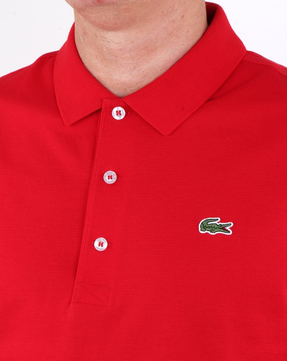 191f06cd Lacoste Polo Shirt Red