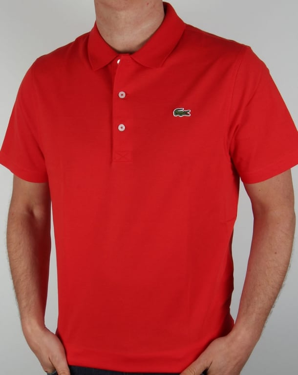 ecae233f59bc9 Lacoste Red Polo Shirt,sport,mens,vintage,old skool