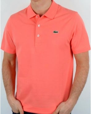 Lacoste Polo Shirt Tarama Pink