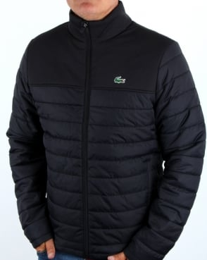 Lacoste Puffer Jacket Black