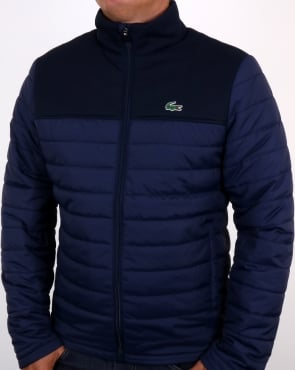 Lacoste Puffer Jacket Navy