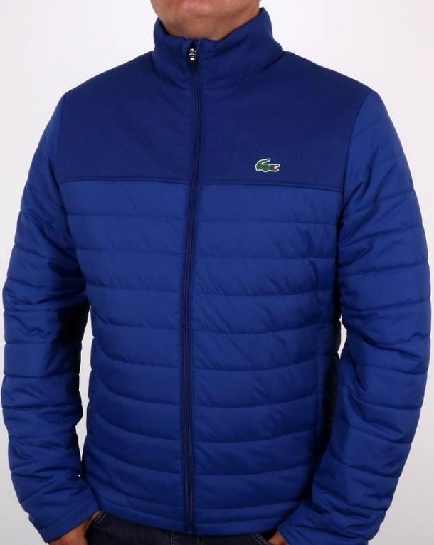 Lacoste Puffer Jacket Ocean Blue