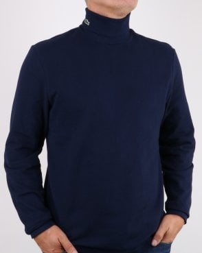 Lacoste Roll Neck Navy