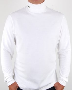 Lacoste Roll Neck soft white