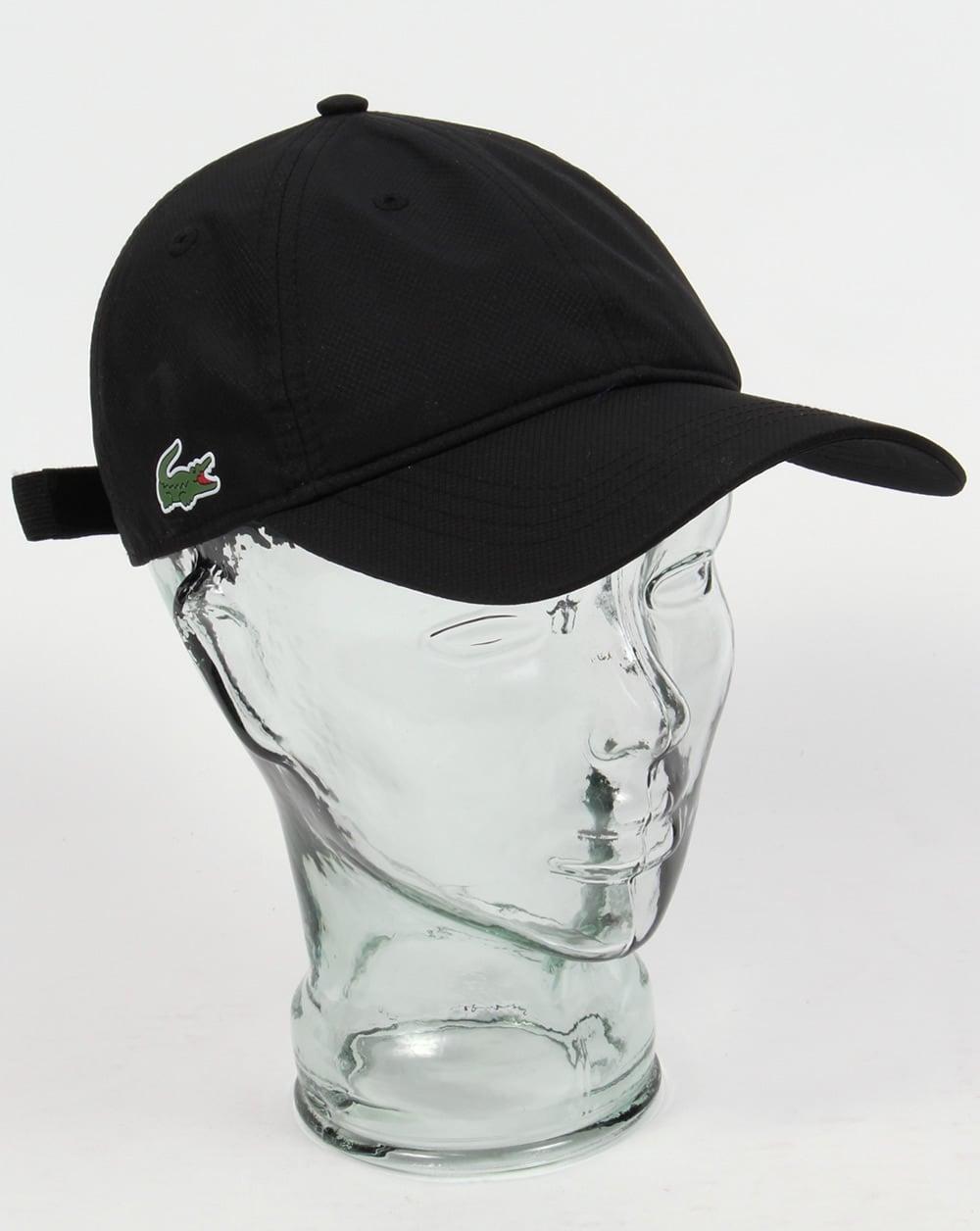 372f9419ec8f Lacoste Sport Cap Black,baseball,mens