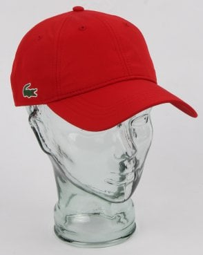 Lacoste Sport Cap Red